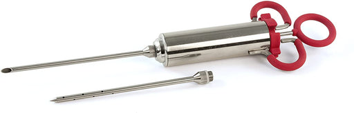Charcoal Companion Stainless Steel & TPR Marinade Meat Injector