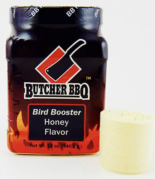 Butcher BBQ Bird Booster Honey Flavor 12oz.