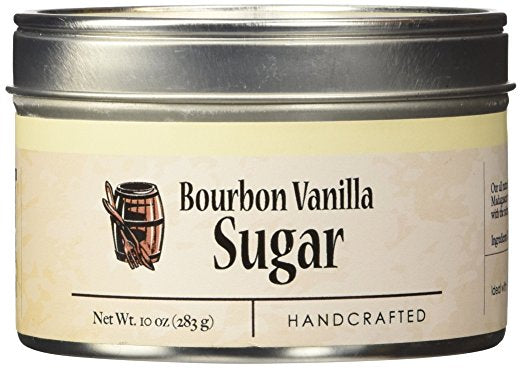 Bourbon Barrel Foods: Bourbon Smoked Vanilla Sugar