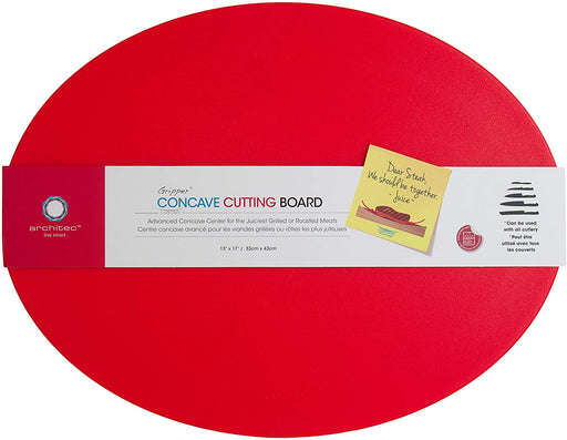 Architec® Poly Gripper Concave Cutting Board