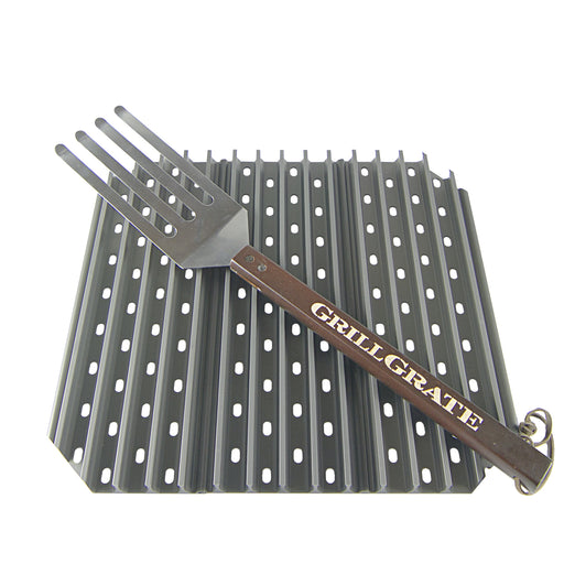 "GrillGrates for The Big Green Egg, Large Kamado Joe Classic, and all 18"" Diameter Grills"