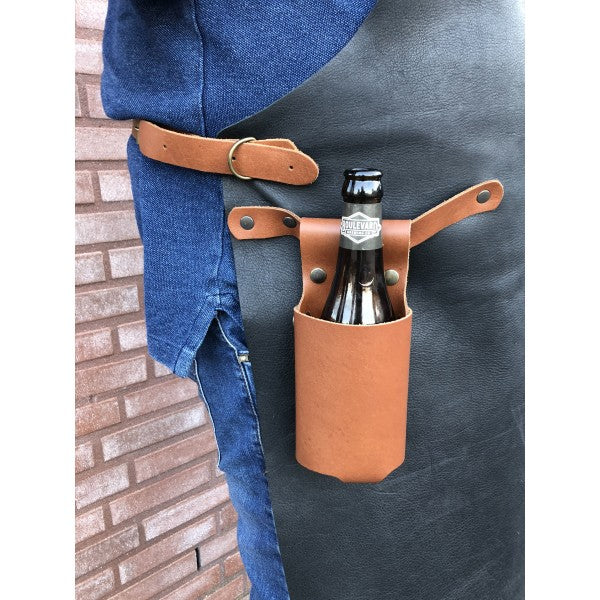 Xapron Bottle Holster - Cognac