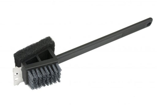 Plastic 2 In 1 Safe-Scrub™ Grill Brush / Long Handle