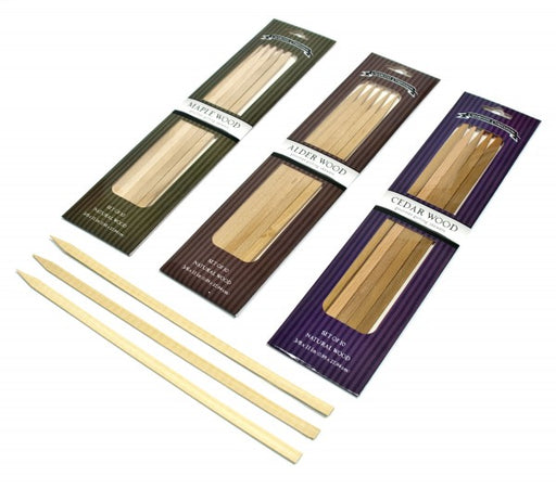 Wood Flavored Skewers