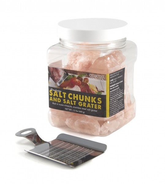 Himalayan Salt Chunks with Salt Grater