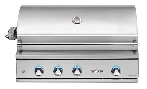 "Delta Heat 38"" Outdoor Gas Grill w/ Infrared Rotisserie & Sear Zone"
