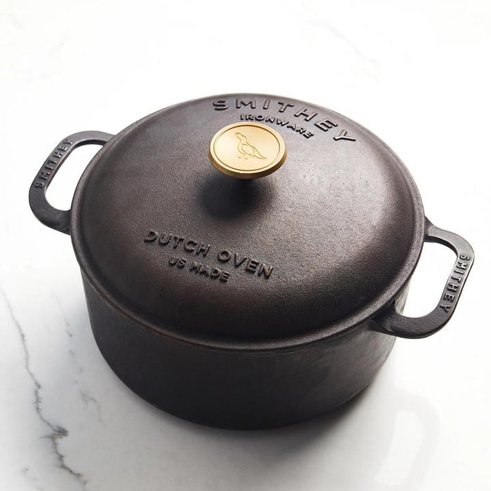 Smithey Ironware 5.5 Qt. Dutch Oven