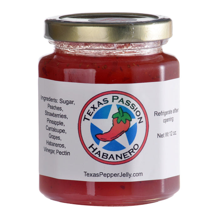 Texas Pepper Jelly – Texas Passion Habanero Pepper Jelly