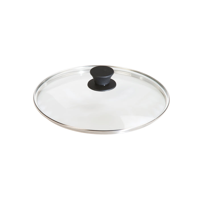 Lodge 10.25 Inch Tempered Glass Cover, Phenolic Knob Is Oven Safe To 400° F