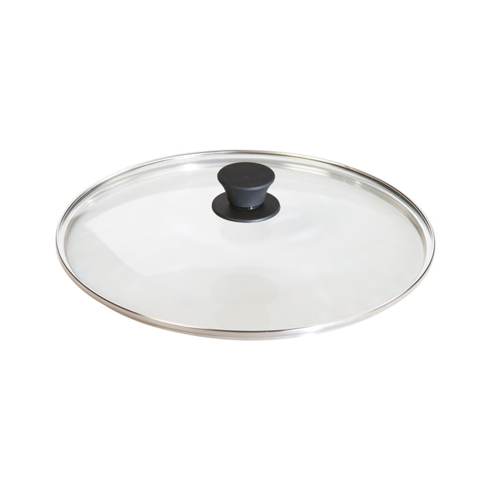 Lodge 12 Inch Tempered Glass Cover, Phenolic Knob Is Oven Safe To 400° F