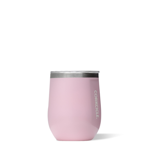Corkcicle. Rose Quartz Classic Stemless 12oz Wine Cup