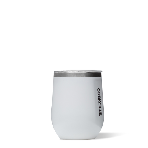 Corkcicle. White Classic Stemless 12oz Wine Cup