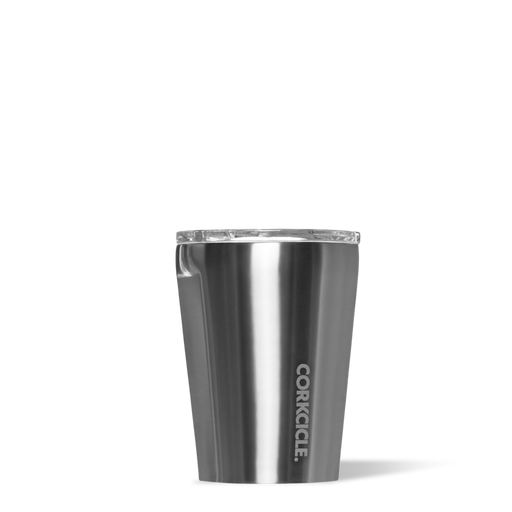 Corkcicle. Gunmetal Metallic 12oz Tumbler