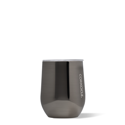 Corkcicle. Gunmetal Metallic Stemless 12oz Wine Cup
