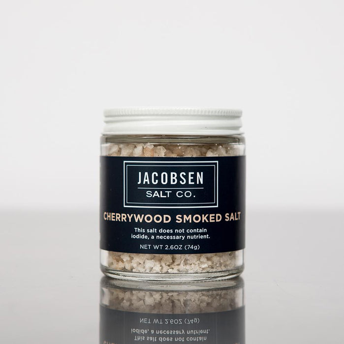 Jacobsen Salt Co. Infused Cherrywood Smoked Salt