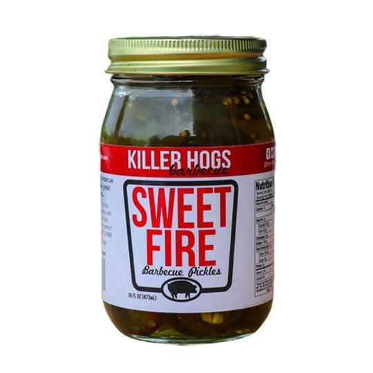 Killer Hogs Barbecue: Sweet Fire Pickles