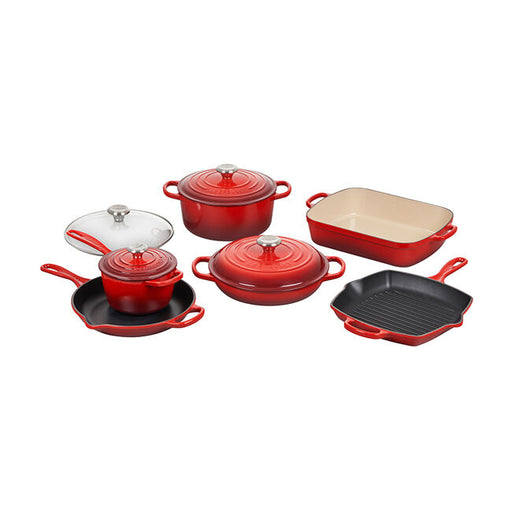 Le Creuset 10-Piece Cast Iron Set