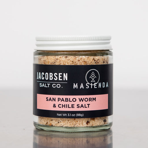 Jacobsen Salt Co. Masienda San Pablo Worm & Chili Salt 3.1oz.