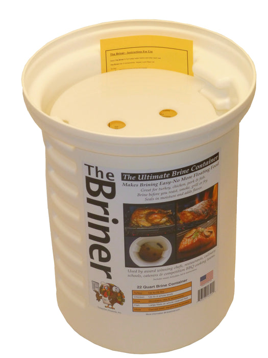 The Briner - The Ultimate Turkey Brine Container