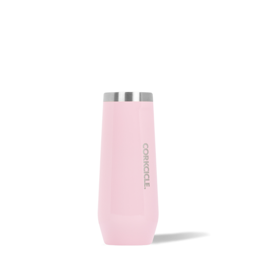 Corkcicle. Rose Quartz Classic Stemless 7oz Flute