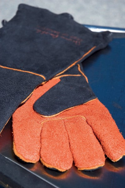 Extra-Long Suede Gloves