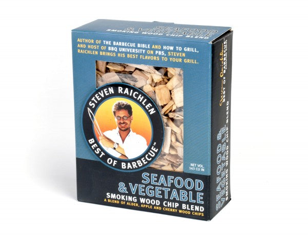 Seafood & Vegetable Smoking Wood Chip Blend