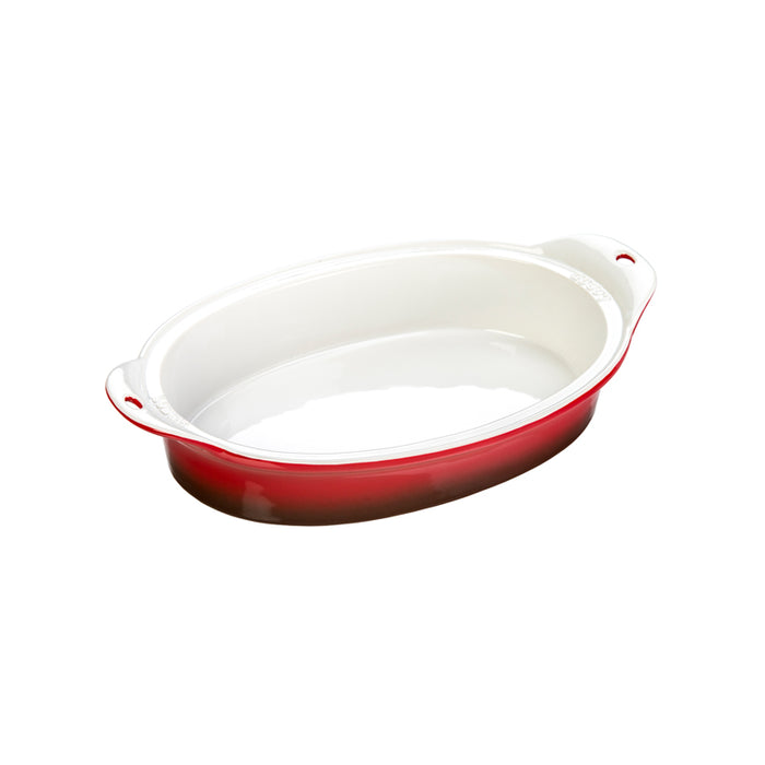 Lodge 8 X 11.75 Inch Stoneware Baking Dish, Red