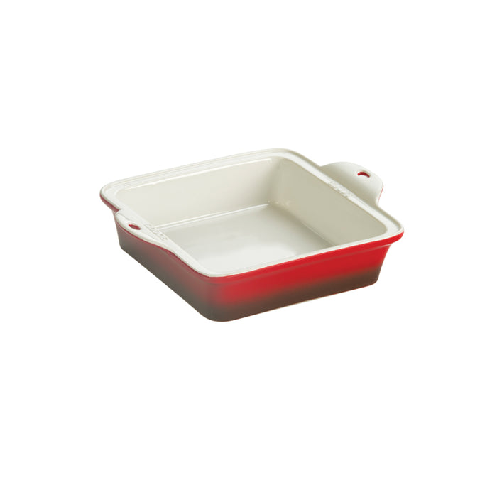 Lodge 8 X 8 Inch Stoneware Baking Dish, Red