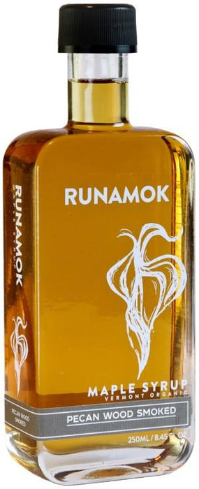 Runamok: Pecan Wood Smoked Maple Syrup