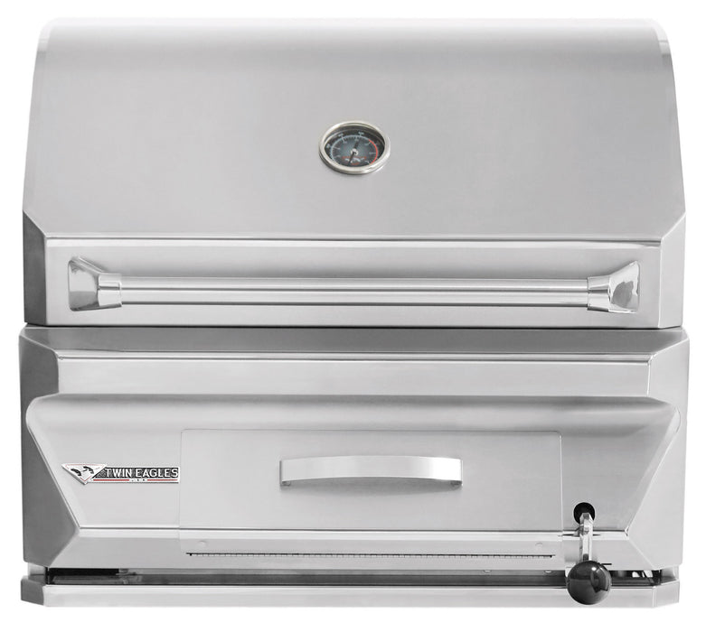 "30"" Twin Eagles Charcoal Grill"