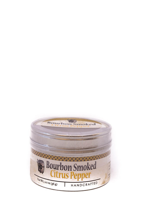 Bourbon Barrel Foods: Bourbon Smoked Citrus Pepper