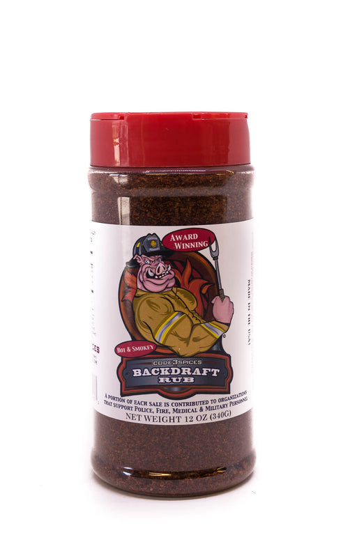 Code 3 Spices: Backdraft Rub