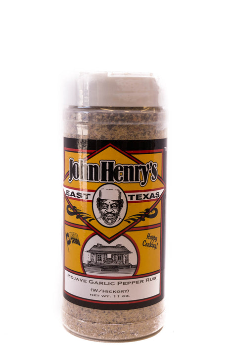 John Henry's: Mojave Garlic Pepper with Hickory