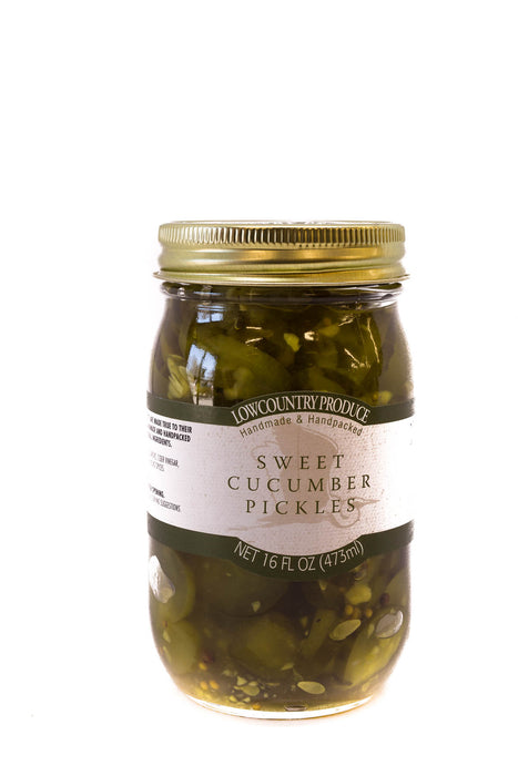 LowCountry Produce: Sweet Cucumber Pickles