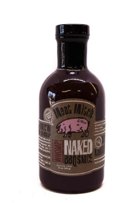 Meat Mitch: WHOMP! Naked BBQ Sauce