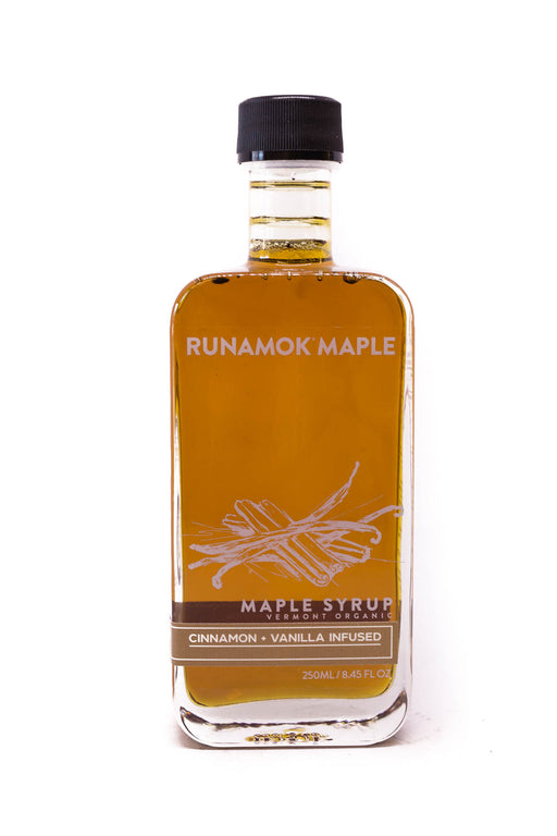 Runamok Maple Syrup: Cinnamon & Vanilla Infused Maple Syrup