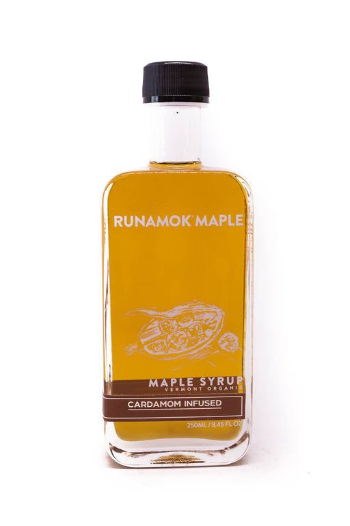 Runamok Maple Syrup: Cardamom Infused Maple Syrup