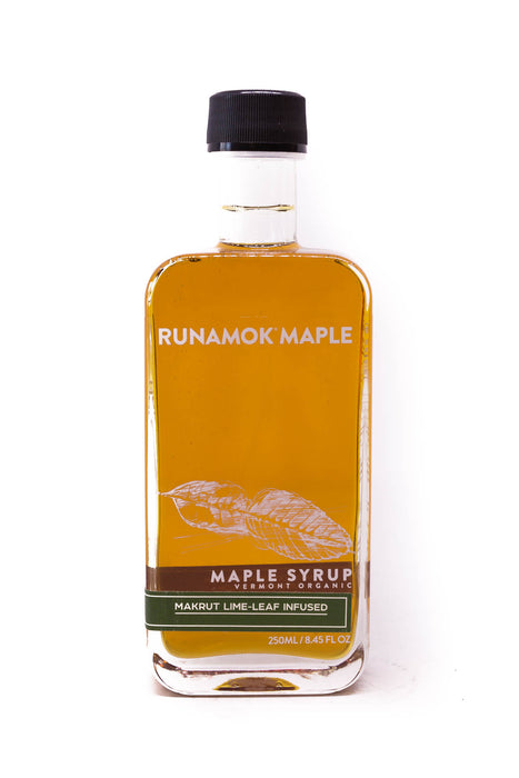 Runamok: Makrut Lime-Leaf Infused Maple Syrup