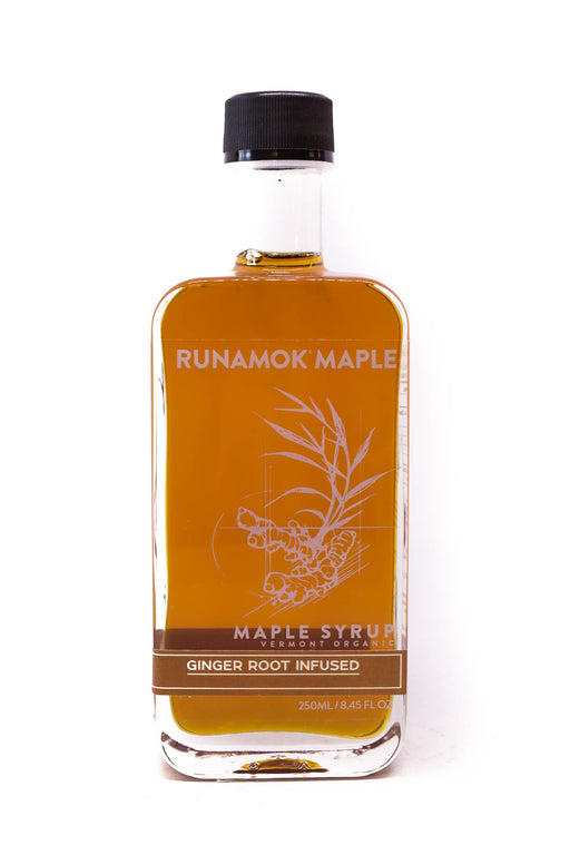 Runamok Maple Syrup: Ginger Root Infused Maple Syrup