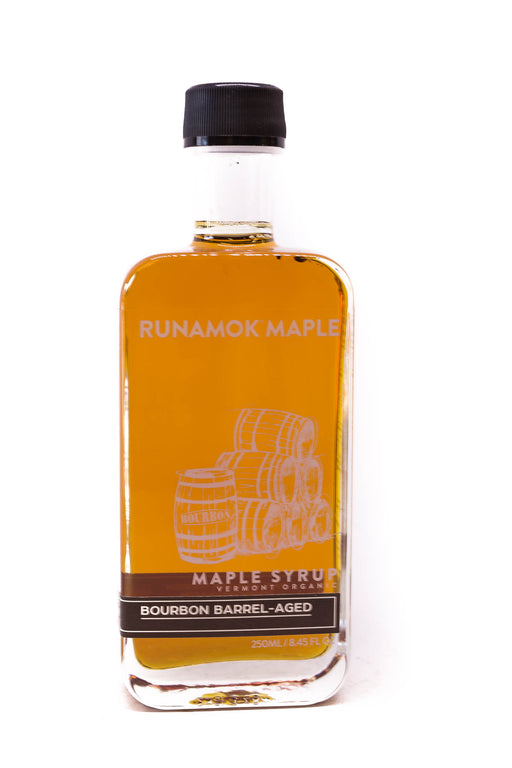 Runamok Maple Syrup: Bourbon Barrel-Aged Maple Syrup