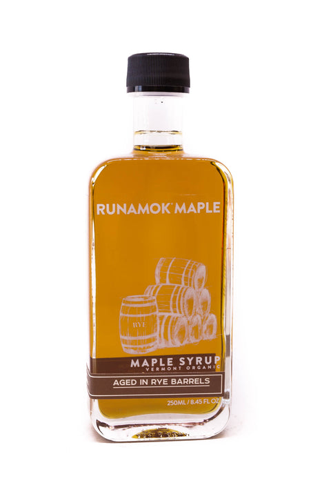Runamok Maple Syrup: Rye Whisky Barrel-Aged Maple Syrup