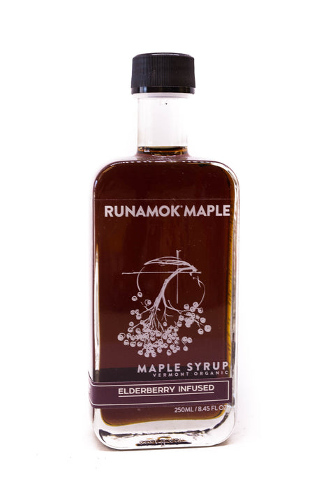 Runamok Maple Syrup: Elderberry Infused Maple Syrup