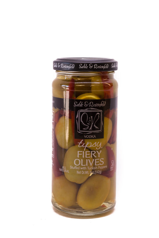 Sable & Rosenfeld: Vodka Tipsy Fiery Olives