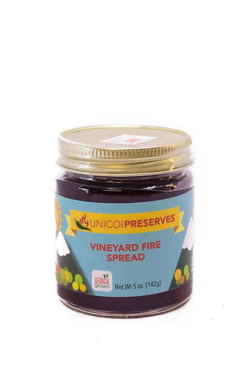 Unicoi Preserves: Vineyard Fire Spread