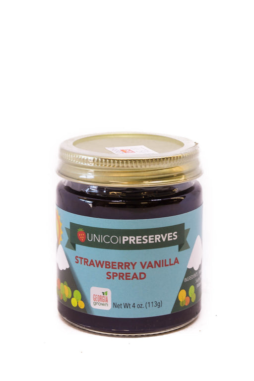 Unicoi Preserves: Strawberry Vanilla Spread