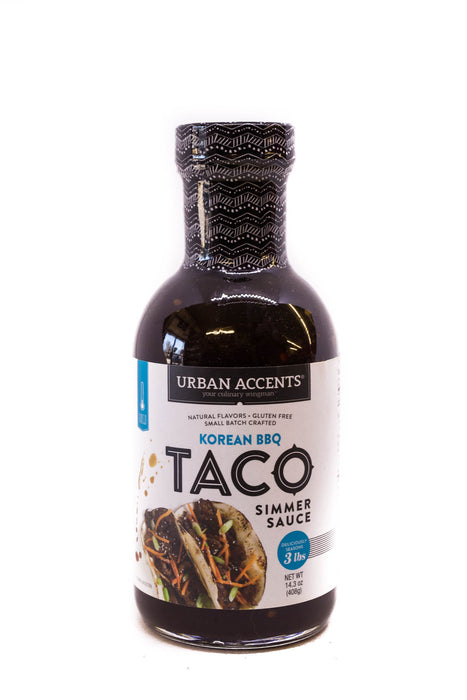 Urban Accents: Korean BBQ Taco Simmer Sauce