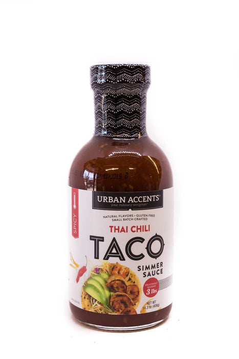 Urban Accents: Thai Chili Taco Simmer Sauce