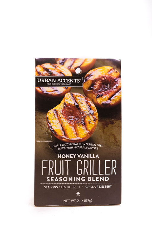 Urban Accents: Honey Vanilla Fruit Griller Seasoning
