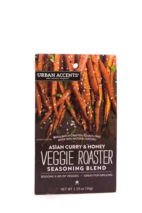 Urban Accents: Asian Curry & Honey Veggie Roaster