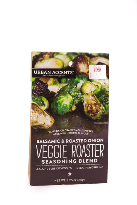Urban Accents: Balsamic & Roasted Onion Veggie Roaster